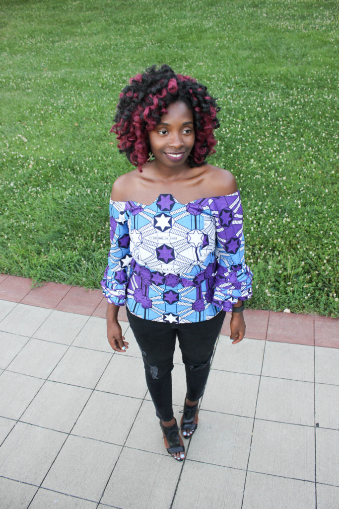 Ankara Off the Shoulder