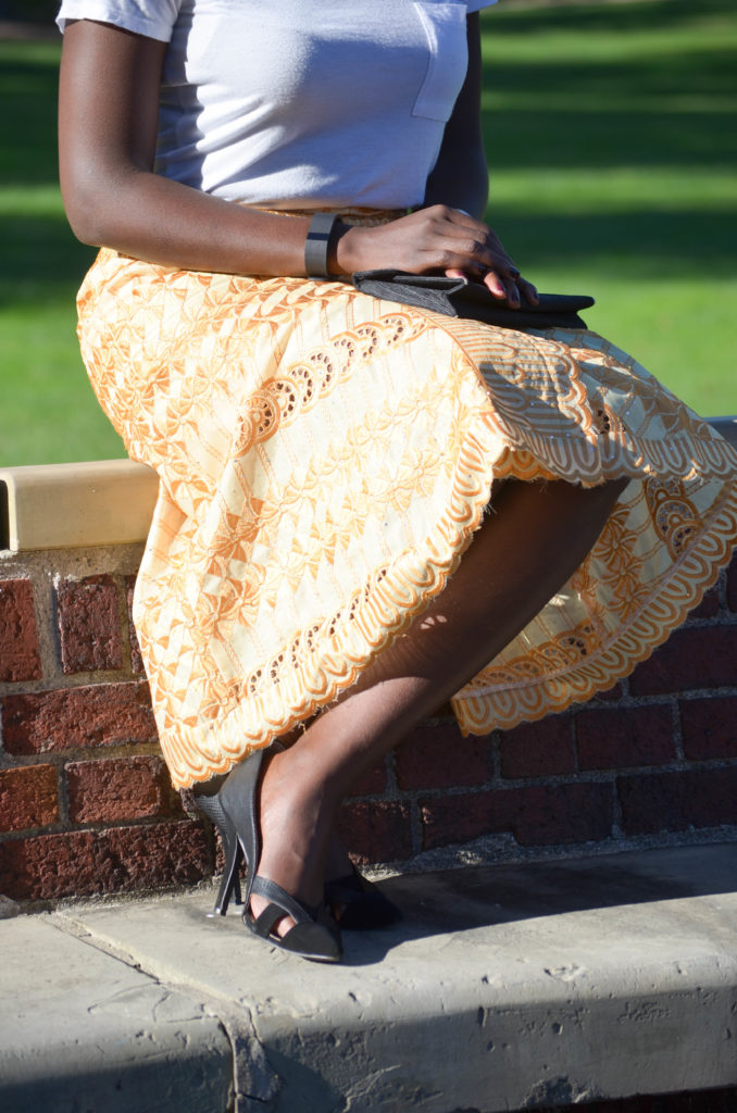 African Lace Skirt