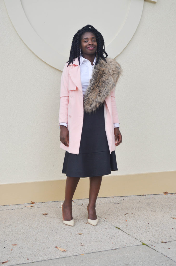 Pink Trench || CancanRoynelle.com