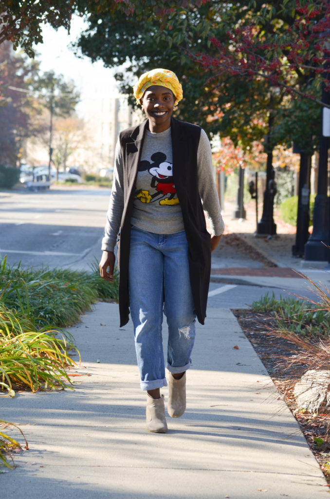 Mickey Mouse Sweatshirt || CancanRoynelle.com