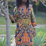 African Outfit: Shift Dress || CancanRoynelle.com