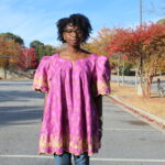 African Outfit: Baby Doll Top|| CancanRoynelle.com