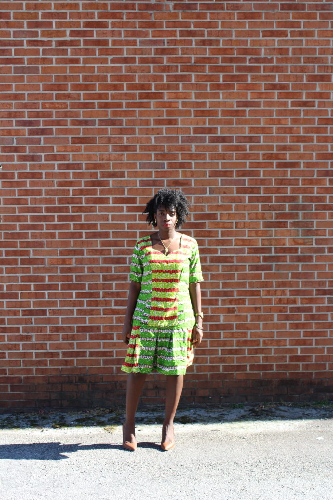 African Outfit: Flared Hem || CancanRoynelle.com