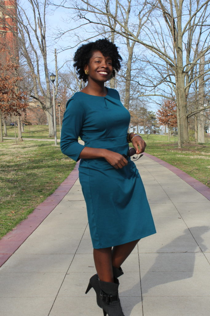 Teal Dress || CancanRoynelle.com