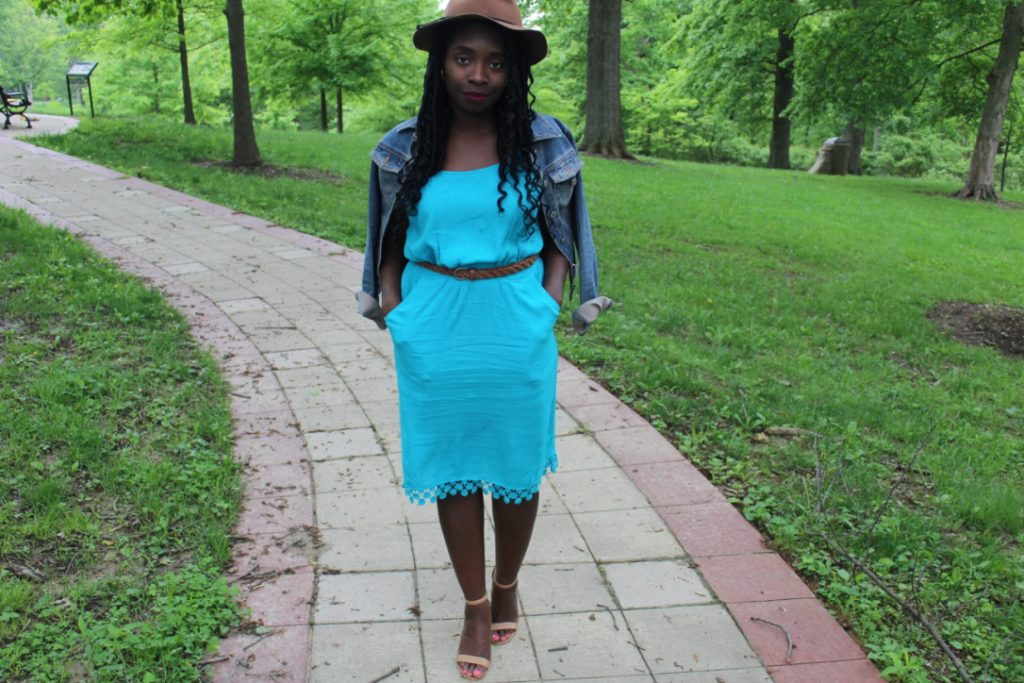 Turquoise Dress || CancanRoynelle.com