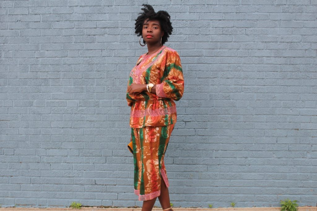 One Outfit 3 Ways: African Outfit Part I || CancanRoynelle.com