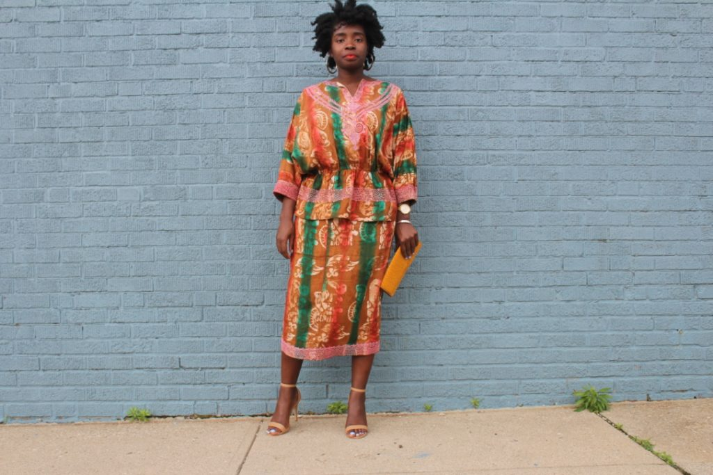 One Outfit 3 Ways: African Outfit Part I