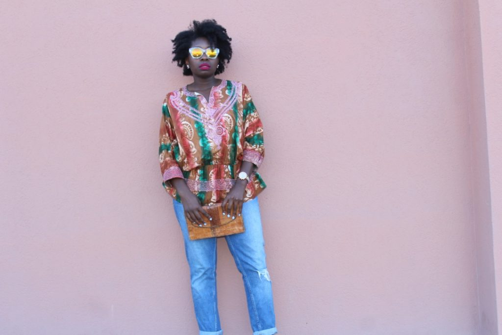 One Outfit 3 Ways: African Outfit Part II || CancanRoynelle.com
