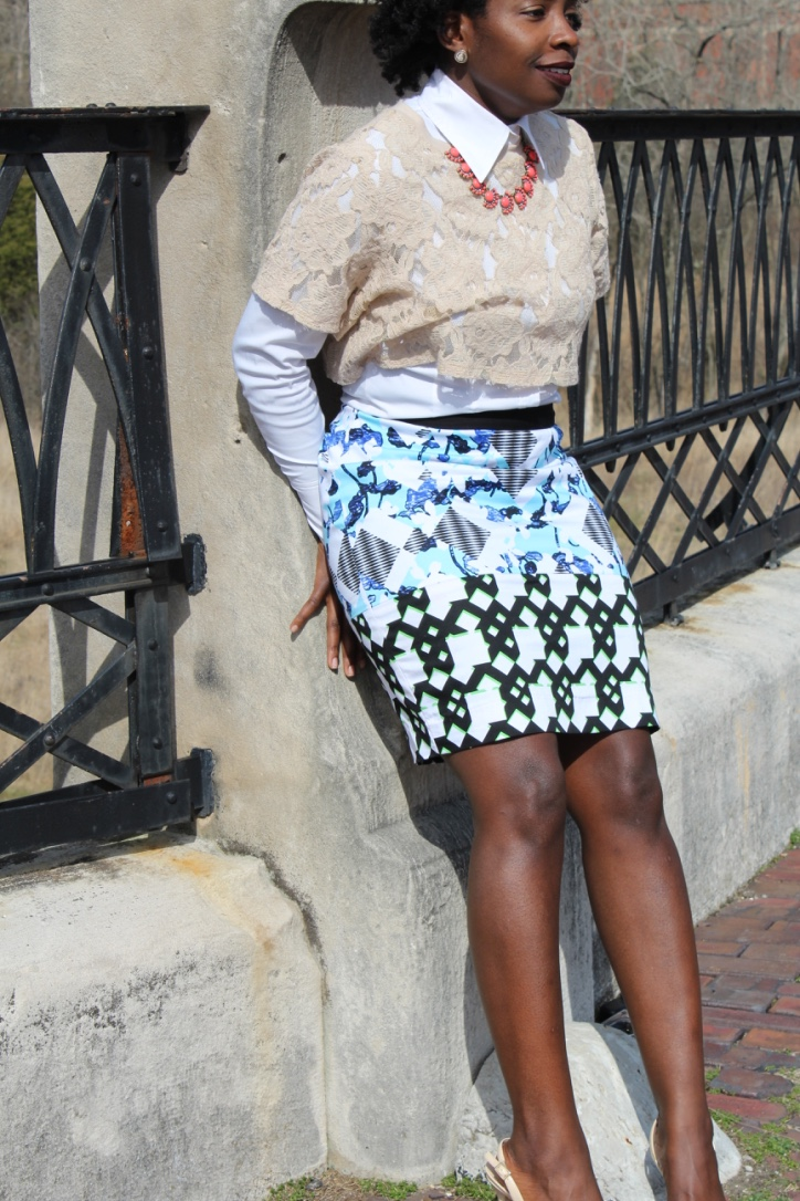 CROP TOP AND PENCIL SKIRT || CancanRoynelle.com